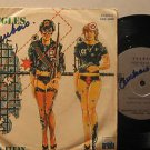 """BUGGLES bolivia 45 CLEAN CLEAN 7"""" Pop PICTURE SLEEVE/WRITING ON COVER & LABEL AR"""
