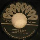 "ALTON AND THE FLAMES/BA BA BROOKS jamaica 45 BLESSING OF LOVE 7"" Reggae LUMPY SU"
