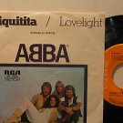 """ABBA mexico 45 CHIQUITITA 7"""" Pop PICTURE SLEEVE RCA excellent"""