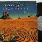 URIAH HEEP latin america LP HEAD FIRST Rock LABEL IN SPANISH TOO ARIOLA