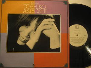 TOSHIKO AKIYOSHI usa LP FINESSE Jazz CONCORDE excellent