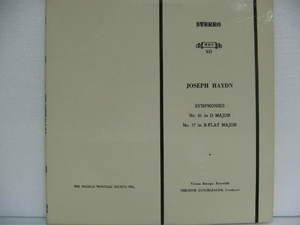 THEODOR GUSCHBAUER usa LP JOSEPH HAYDN SYMPHONIES N. 61 & N.77 Classical MHS exc