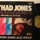 THAD JONES usa LP GREETINGS & SALUTATIONS Jazz BIOGRAPH excellent