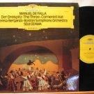 SEIJI OZAWA/TERESA BERGANZA germany LP MANUEL DE FALLA Classical STEREO DEUSTCHE