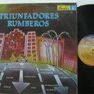 SAMPLER latin america LP TRIUNFADORES RUMBEROS FUENTES