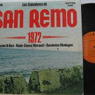 SAMPLER latin america LP SAN REMO 1972 Vocal RCA