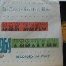 SAMPLER latin america LP SAN REMO 1964 Vocal EPIC