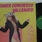 SAMPLER colombia LP PRIMER CONCIERTO VALLENATO Latin COSTENO