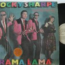 ROCKY SHARPE latin america LP RAMA LAMA LABEL IN SPANISH TOO CHISWICK