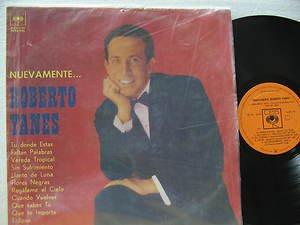 ROBERTO YANES latin america LP NUEVAMENTE CBS
