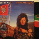 ROBERT PLANT mexico LP NOW AND ZEN Rock WITH INSERT/LABEL IN SPANISH WEA excelle