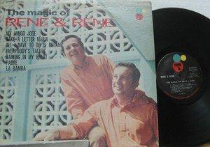 RENE & RENE latin america LP THE MAGIC OF RENE & RENE STEREO