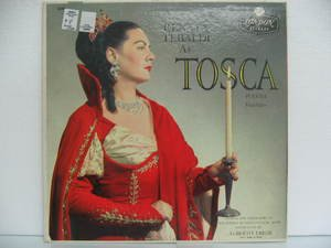 RENATA TEBALDI usa LP TOSCA HIGHLIGHTS Classical LONDON excellent