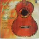 PEPE ROMERO usa LP RODRIGO FANTASIA & GIULIANI Guitar PHILIPS excellent