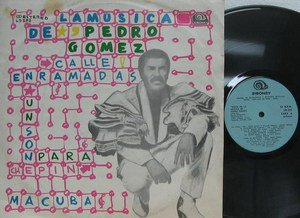 PEDRO GOMEZ latin america LP LA MUSICA DE PEFRO GOMEZ SIBONEY