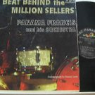 PANAMA FRANCIS usa LP THE BEAT BEHIND THEMILLION SELLERS Jazz ABC