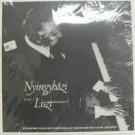 NYIREGYHAZI usa LP PLAYS LISZT Classical PRIVATE excellent