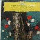 NICANOR ZABALETA usa LP RAVEL DEBUSSY Classical DEUSTCHE GRAMMOPHON excellent