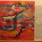 MOVING TARGETS usa LP BRAVE NOISE Rock WITH ORIGINAL INNER SLEEVE AND INSERT TAA