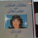 MIREILLE MATHIEU latin america LP CHANTE PAUL ANKA French ARIOLA