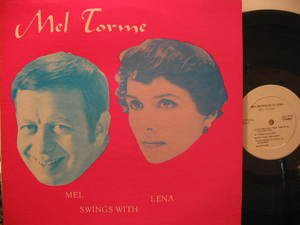 MEL TORME & LENA HORNE usa LP SWINGS WITH Jazz TELEHOUSE excellent