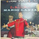 MARIO LANZA usa LP THE STUDENT PRINCE Classical RCA excellent