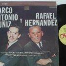 MARCO ANTONIO MUNIZ Y RAFAEL HERNANDEZ latin america LP CANTAN Mexican NAST
