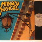 MANOLO CARACOL usa LP S/T SELF SAME UNTITLED Spain REGAL