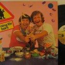 MAGNUS & BRASSE sweden LP VARNING FOR BARN FOLDOUT METRONOME excellent