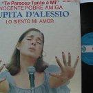 LUPITA D'ALESSIO latin america LP LO SIENTO MI AMOR Mexican ORFEON
