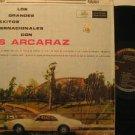 LUIS ARCARAZ usa LP GRANDES EXITOS INTERNACIONALES Latin MUSART excellent