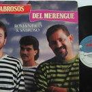 LOS SABROSOS DEL MERENGUE latin america LP ROMANTICO & SABROSO SONO