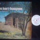 LOS KARI-HUAYNAS LP BUEN CRIOLLI ARGENTINA_57350