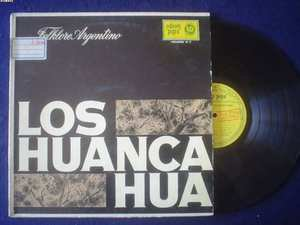 LOS HUANCA HUA LP FOLKLORE ARG ARGENTINA_22678