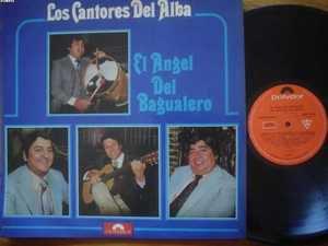 LOS CANTORES DE ALBA LP EL ANGEL DEL FOLKLORE ARGENTINA