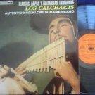 LOS CALCHAKIS LP FLAUTAS ARPAS FOLK ANDINO  ARGENTINA_4
