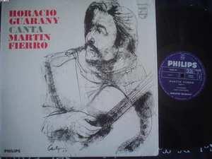 HORACIO GUARANY LP CANTA MARTIN FIERRO ARGENTINA_16223