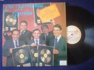 HERMANOS BARRIOS LP ROMANTICOS DE ORO  ARGENTINA_22629