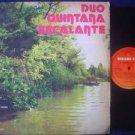 DUO QUINTANA-ESCALANTE LP BARCINO COLI PARAGUAY _10562