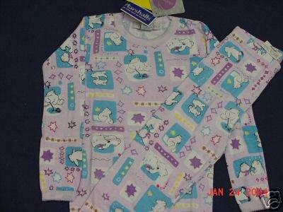 Girls Size 10 Lilac Polar Bear