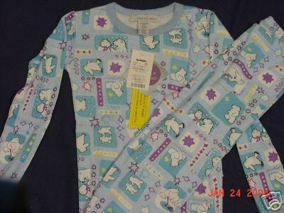 Girls Size 10 Blue Polar Bear