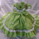 Sparkle Lime  XS Dress