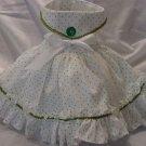 Green Polka  XS Dress