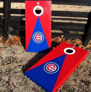 Outstanding New Chicago Cubs Cornhole Boards Bean Bag Toss Game Aca Evergreenethics Interior Chair Design Evergreenethicsorg