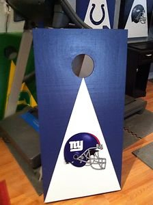 Brilliant New Custom Birch New York Giants Cornhole Boards Bean Bag Evergreenethics Interior Chair Design Evergreenethicsorg