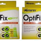 2 X Memorex Optifix Pro Refill Cleaning  Kit - 2 Packages
