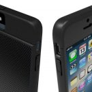 For iPhone 5,5S,Marware Revolution Carbon Fiber Case/Black/Free Screen Protector