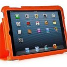 XtremeMac Case for Apple iPad Mini 1 / 2  Orange denim  + Free Screen Protector