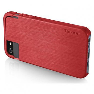 Targus Slider Case for iPhone 5 / 5S THD01903US Red + Free Screen Protector