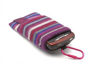 Case Logic UKP2 Purple Universal Knit Pocket for Camera, iPod, Phone, mp3 Player